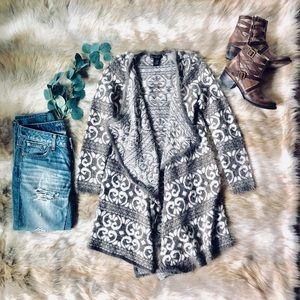 🌿 Plush Taupe Open Knit Cardigan 🌿